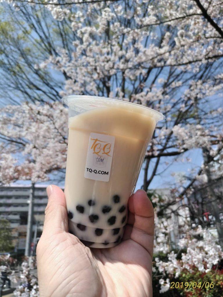 台湾でも有名な「タピオカミルクティー」